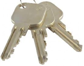 Schließanlagenschlüssel nur mit Erlaubnis